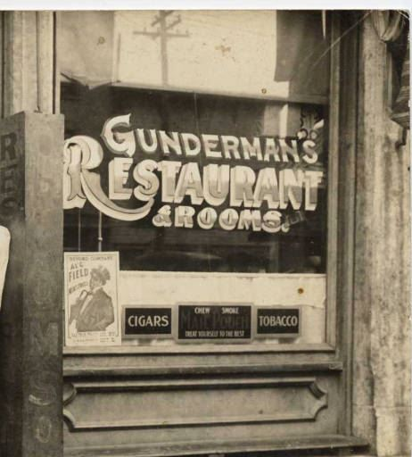 Gundermans Restaurant on North Main Street